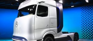 The prototype of the hydrogen truck will be presented at a press conference.