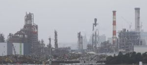 Bad air in Kawasaki: Japan's economy is highly industrialized.