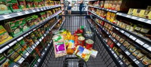 In the supermarket: Groceries have recently become cheaper in some cases - but now the old VAT is coming back.