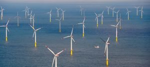 Every depot can take a breath of fresh air: the Butendiek offshore wind farm off the island of Sylt in the North Sea